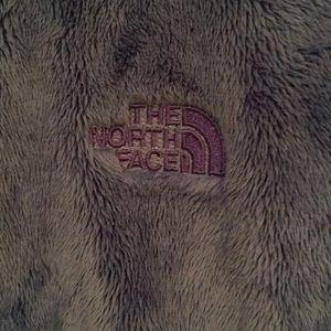 North Face Jackets & Coats - North Face fluffy blue zip up jacket sz S 56654